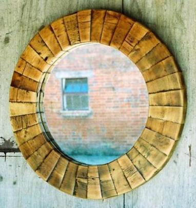 Reclaimed Oak Mirror - Wall Art and Mirrors | Interiors | High Quality Lighting Centre UK | Scoop.it