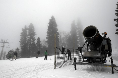 California ski resorts slog through a warm winter | Sustain Our Earth | Scoop.it