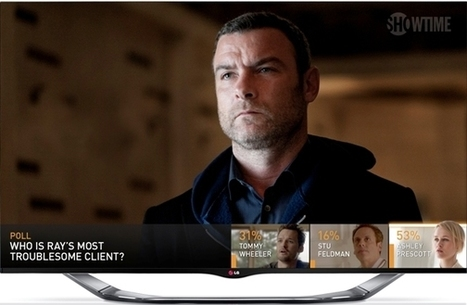 Showtime and LG bringing second screen interaction to the first screen - Lost Remote | Social TV and Voting | Scoop.it