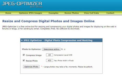 20 herramientas para optimizar imágenes gratis y de pago   AgenciaTAV - Asistencia Virtual   Scoop.it