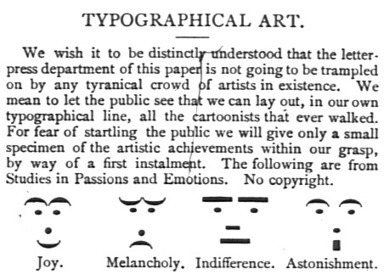Happy Birthday to the Emoticon, Which Is At Least 134 Years Old - Motherboard | ASCII Art | Scoop.it