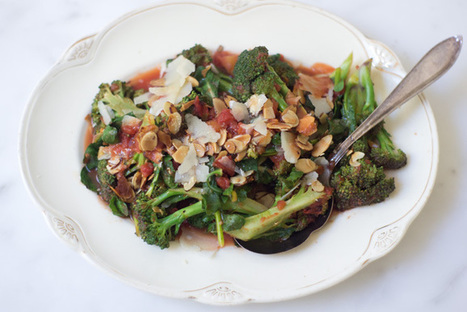 Braised Broccoli with Orange and Parmesan | Info hors face book et twitter | Scoop.it