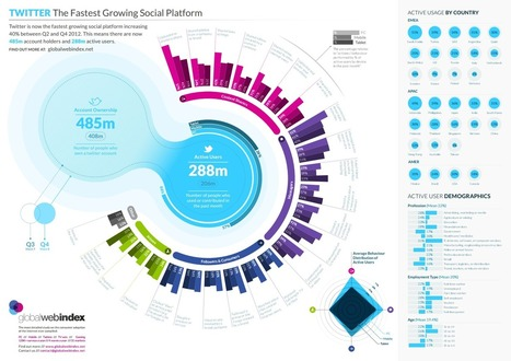 Twitter is the Fastest Growing Social Network [INFOGRAPHIC] | Medical Applications | Scoop.it