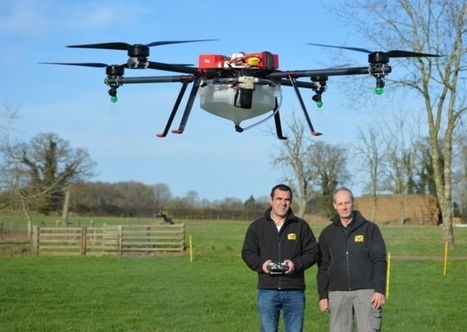 Could drones launch an aerial revolution in crop spraying? | Drone in Agriculture | Scoop.it