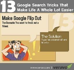 Google Search Tricks and Tips Infographic | Competencias para el manejo de la información | Scoop.it