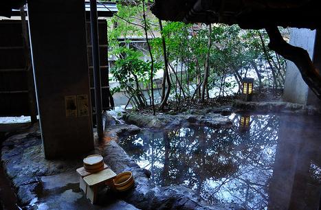 Onsen, l'art du bain à la japonaise - Carte postale du Japon | Le Japon et la culture japonaise à Toulouse. | Scoop.it