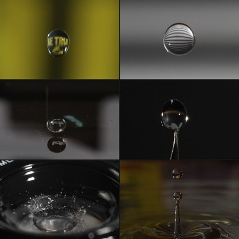 Motion Controlling a Water Drop: Entropy, An Arduino, A Laser ... | Arduino, Netduino, Rasperry Pi! | Scoop.it