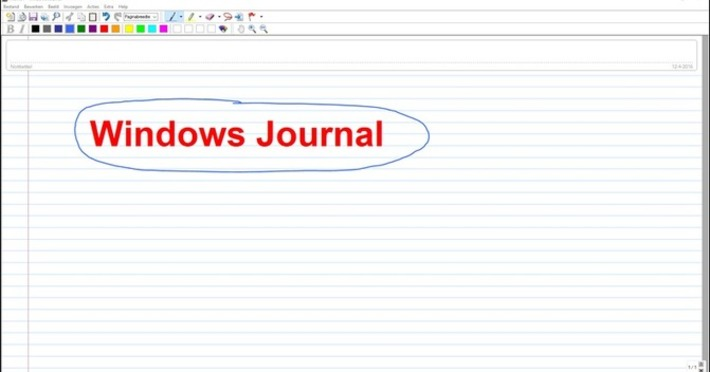 Edu-Curator: Is de app 'Windows Journal' bruikbaar als 'digibord'-software..? | Edu-Curator | Scoop.it