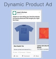 Facebook's Dynamic Product Ads Hit the Right Audience with the Right Products | MarketingHits | Scoop.it