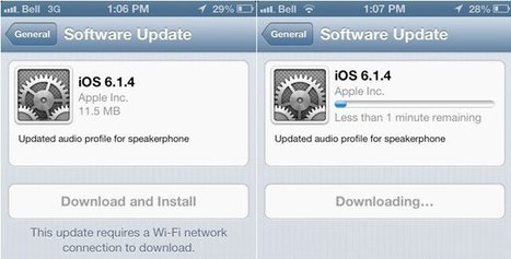 iOS 6.1.4 Has Been Just Released and Now It Is Time For Unlock | iPhone Unlocking Guides - iOS 7 - iOS 6 | Scoop.it