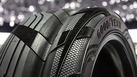 Goodyear's Clever Concept SUV Tire Has The Grand Canyon In The ... | Innovation and Creation | Scoop.it