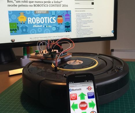 Controlling a Roomba robot with Arduino and Android | Raspberry Pi | Scoop.it