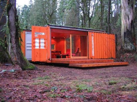 Little Cargo Container in the Big Woods: Gardenista | Aesthetics & Space | Scoop.it