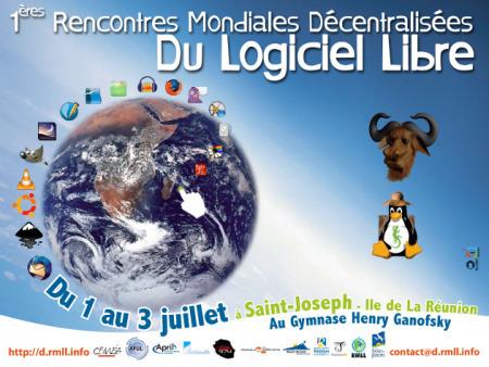 1ère Rencontre Mondiale Décentralisée Du Logiciel Libre à La Réunion | GaLaGaNN's Blog | ITConsulting-fr | Scoop.it