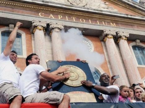 Rugby: des milliers de Toulousains fêtent le 18e Bouclier de Brennus | Toulouse La Ville Rose | Scoop.it