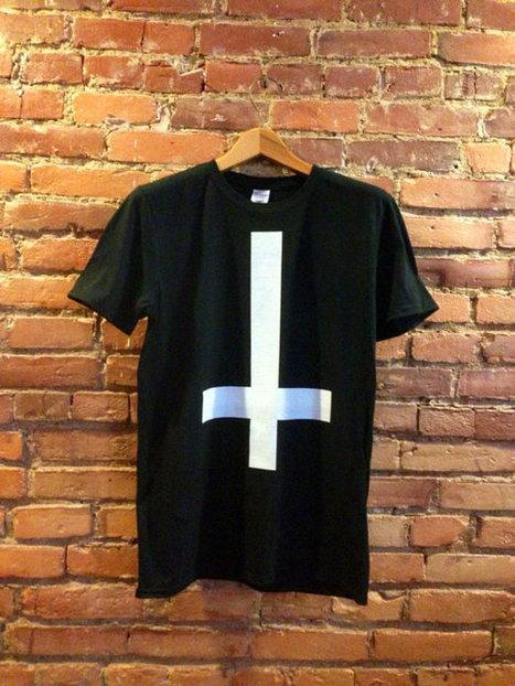 Upside Down Cross Shirt | Fashion Cross Tshirt | Fashionista Clothing | Fashion Shirt | Scoop.it
