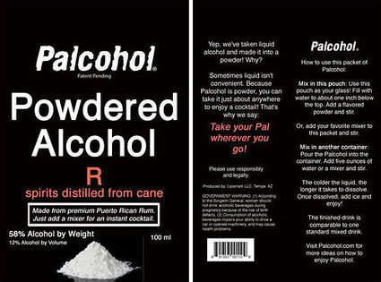 Powdered Alcohol Loses Government Approval | Restaurant Industry News | Scoop.it