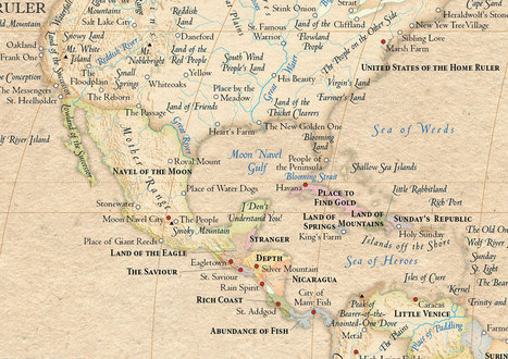 Atlas of True Names | Human Geography Too | Scoop.it