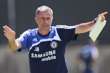 Mourinho admits lack of goals due to style change | News | Scoop.it