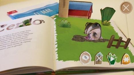 Libros vivos gracias a la realidad aumentada. - Educadiver | Geopyrenaica | Scoop.it
