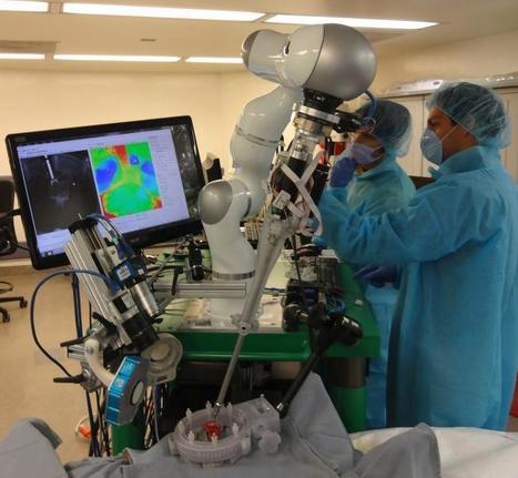 Robot Stitches Tissue By itself, A Step to More Automated OR | Ingeniería Biomédica | Scoop.it