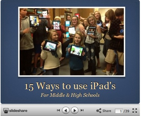 Using Technology in the Classroom: 15 Ways to Use an iPad in Middle & High Schools | iPads in Education | Scoop.it