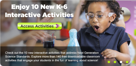 10 New K-6 Science Activities and Videos – DEN Blog Network | Handy Online Tools for Schools | Scoop.it