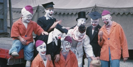 If You Think Clowns Are Creepy, Don't Look At These Awesome Vintage Circus Photos | The Huffington Post | Kiosque du monde : A la une | Scoop.it