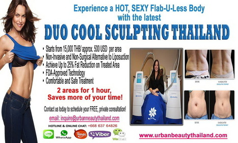 CoolSculpting Zeltiq LOWEST Price Bangkok, Thailand for Sexier You - Urban Beauty Thailand | Laser Facelift Skin tightening Bangkok, Ulthera, Coolsculpting by Zeltig, Thread lift, Thermage, Mini facelift Phuket Thailand | Scoop.it