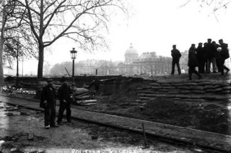 Les projets contre la crue - Histoires de Paris | Histoires de Paris | Scoop.it