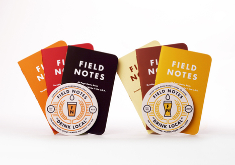 Field Notes Colors: Drink Local Limited Edition - The Dieline - | Brand | Scoop.it