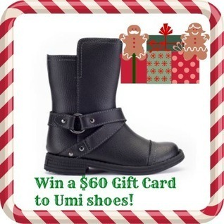 Win a $60 Gift Card to Umi Shoes and boots | Giveaways | Scoop.it