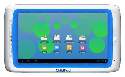 "Archos Announces the Child Pad 7"" ICS Kid-Friendly Tablet — The Gadgeteer 