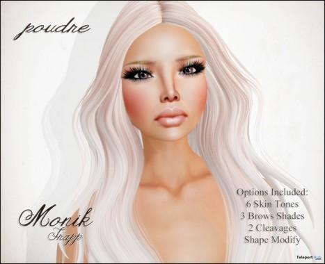 Monik Frapp Skin Group Gift by POUDRE   Teleport Hub - Second Life Freebies   Second Life Freebies   Scoop.it