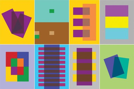 Josef Albers's 'Interaction of Color' Book Comes to Life in iPad App | Into the Driver's Seat | Scoop.it