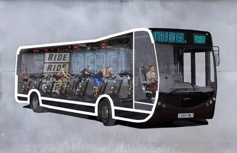 Spin studio in a bus lets you work out on the way to work | mHealth- Advances, Knowledge and Patient Engagement | Scoop.it