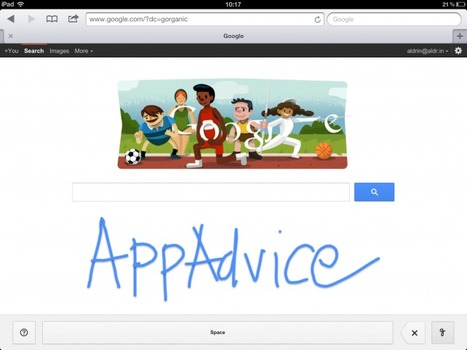 Google Now Lets You 'Handwrite' Your Search Queries On Your iDevice | Eagle Hill Southport | Scoop.it