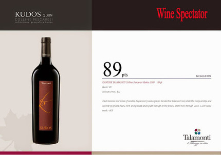 Kudos 2009 reviewed on Wine Spectator 89 points! You can buy this fine #wine… | Italian Fine Wines | Scoop.it