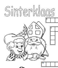 Kruiswoordpuzzel Sinterklaas | sint | Scoop.it