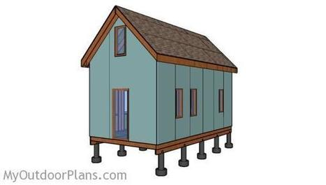 Tiny House Wall Frames Plans | MyOutdoorPlans | Free Woodworking Plans and Projects, DIY Shed, Wooden Playhouse, Pergola, Bbq | Garden Plans | Scoop.it