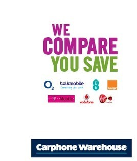 Deal finder - The Carphone Warehouse | Mobile Phone deals | Scoop.it