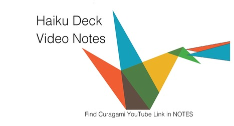 New Video Notes Added To Key Ecommerce ?s @HaikuDeck! | Curation Revolution | Scoop.it