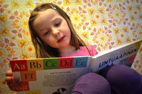 Lukutaito jo kolmevuotiaana – yhä useampi lapsi oppii lukemaan ennen kouluikää - YLE | Koulun ja kirjaston yhteistyö | Scoop.it