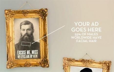 Beardvertising / Un nouvel espace publicitaire | Publicite digitale | Scoop.it