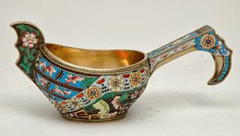 My Antique World: Kovsch: Antique Russian ladle   Antique world   Scoop.it