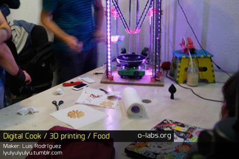 OLAB | OPEN laboratory » Digital Cook / 3d printing / Food | 3d Printed Food | Scoop.it