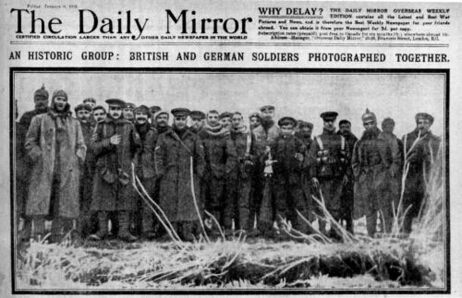 Fraternisations Noël 1914   Centenaire de la Première Guerre Mondiale   Scoop.it