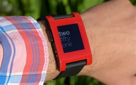 Pebble CEO: We won't be chasing Apple down the 'fashion' route - Telegraph   Internet of Things & Wearable Technology Insights   Scoop.it