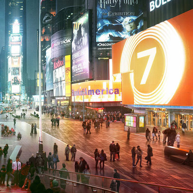 Snøhetta completes phase one of Times Square transformation | CITIES ON MOVEMENT | Scoop.it