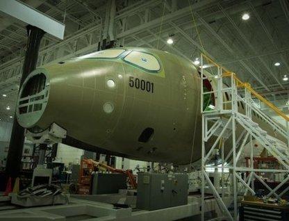 La cellule d'essai CSeries de Bombardier en cours d'assemblage | FlightControl | Scoop.it